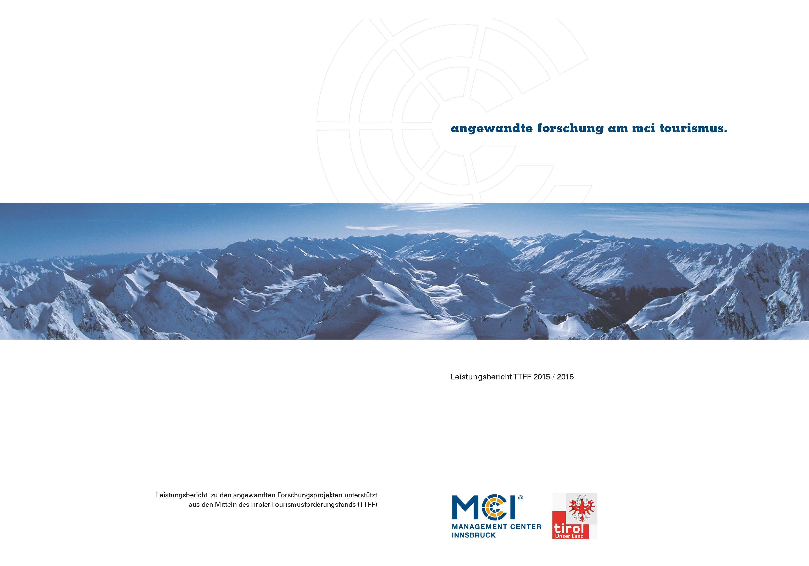 tirol tourismus researching paper