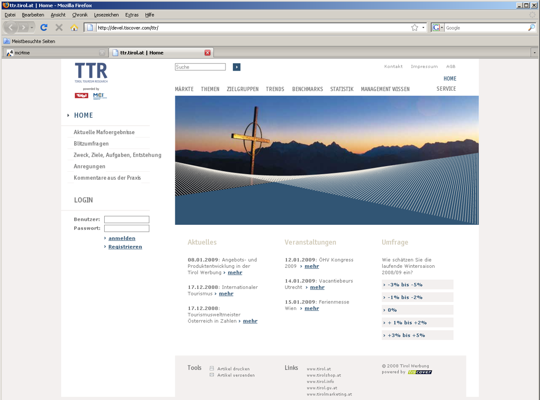 TTR 2.0 Tirol Tourism Research