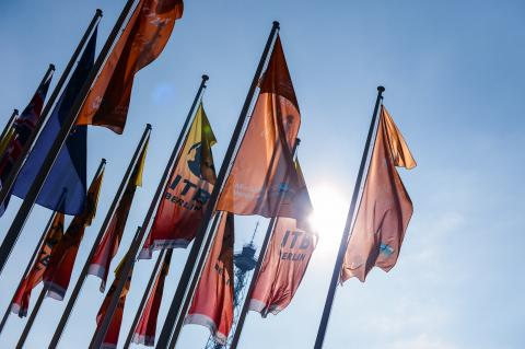 ITB Berlin 2018 Flags